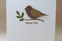 Card Ideas - SU Blissful Bird / by Lisa Gundrum