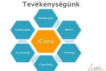 iCons-Hungary Kft / Tréning, coaching, tanácsadás, mérés Training, Coaching, Consultancy, Tests