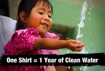 Help Provide Clean Water / We believe what matters most is what you do to help others.  You want to do something that matters?  We made it easy to help.  One shirt = one year of clean water, three trees planted, one animal saved or one month of education.  And the shirt is pretty rad, too.  http://cause.thisshirthelps.com/