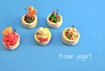 Polymer Clay: Drinks, Ice Cream and Candies / #Polymer Clay  / by imargienations