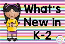 What's New in K-2 / This is a collaborative board for Kindergarten, First, and Second Grade teachers.  As a collaborator please pin no more than twice a day.  Each time you pin, find someone else's pin on the board to repin onto one of your own boards.  Try to keep the content varied with real photos as much as possible!  Thank You! :)