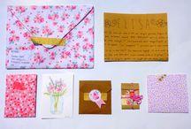 jolies surprises dans ma boîte aux lettres... / by Malou Melle