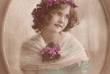 ~Vintage Children&Woman~ / *from ancient times*  / by ღWillemijntje's BrocanteHoekjeღ