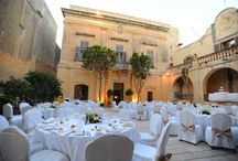 """malta weddings ~ venues / Malta & Gozo wedding ceremony & reception locations for a destination wedding abroad, including beautiful churches, villas, rustic farmhouses & hotels. For inspiration, advice & tips on getting married in Malta then pop over to my """"malta weddings ~ planning"""" board."""