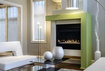 Fireplace Design / Fireplaces, mantels, hearths