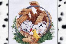 crochet dalmatians