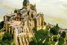 Mont Saint- Michel, Normandy, France