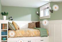 Basement bedroom / by Laura Bullock