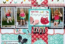 childrens scrap pages