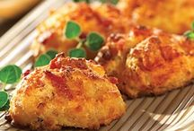 Appetizers / Bacon cheese bites
