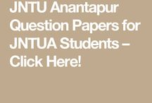 JNTUA Question Papers