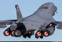 Bomber Rockwell B-1B Lancer