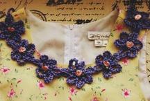 crochet collar trimming