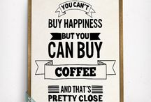 Coffee Prints / Coffee Prints
