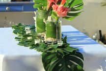 hawaiian wedding theme