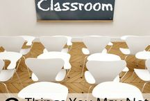 Classroom ideas / Displays and organisation