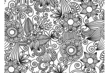 zentangle / Mindful art inspirations