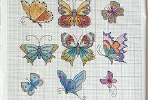 cross stitch batterfly