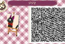 acnl cool wall art qr codes