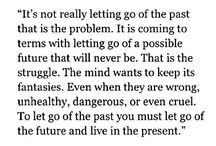 Time to let go/ move on