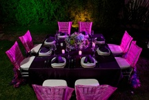 Event Table Settings / by Plush Catering
