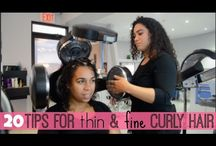 Curly Hair-Tips & styles
