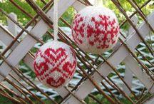 Christmas balls, joulupalloja