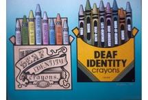 deaf world. / by mkk