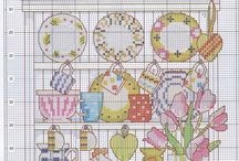 Kitchen - Cross stitch