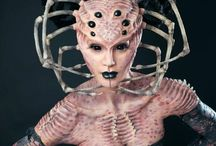 Special Effects Make-up Inspiration / Special Effects Make-up Inspiration - Images from various make-up artists