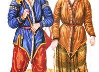 древние одежды разных наРОДов