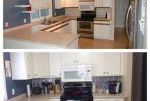 Kitchen Reno / Home Improvements
