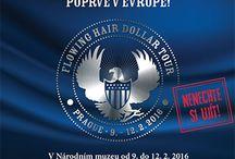 Flowing Hair Liberty Dollar / Slavný Flowing Hair Dollar z roku 1794 byl vyražen v nákladu pouhých 2000 kusů, z nichž se dochovalo pouze 10 exemplářů. V roce 2013 byl na aukci v slavné Stack´s Bowers Galleries vydražen za neuvěřitelných 10 milionů dolarů, čímž se stal nejdražší prodanou mincí v historii.  www.flowing-hair.cz https://www.facebook.com/events/1676297882626898/