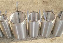 Beer Brewing Filters / Stainless steel beer brewing filters