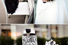 Glamourous Black and White Wedding