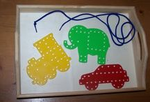 Fine motor play = Better writing! / Great ideas from an OT to you. Improve your child's handwriting and scissor skills!