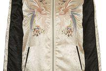 ジャケット / 刺繍ディテール