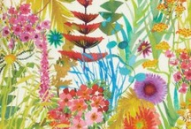 Flora and fauna in textiles