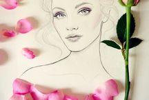 Blomme  meisies