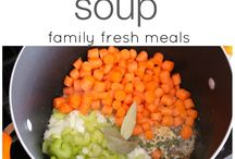 soups or stews