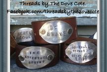 Leather Cuff Ideas / by JourneyOn Designs