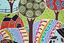 Дома деревья