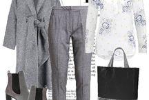 Szare stylizacje - Grey look