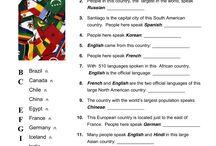 AJ-země a jejich jazyky
