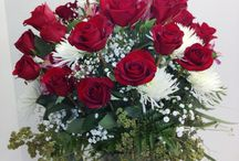 Roses, Roses, Roses and flowers / Our best sellers of all, people love roses. Fresh from the farms across the world, we know how to take care of them before you see them. We chill, hydrate, cut, baby, talk to, and then design and deliver stunning roses for you!