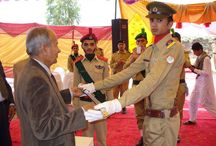Physical Training at the Cadet College Fateh Jang