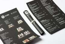 Menu's / by Andrew Robertson