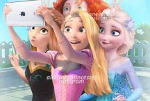 Disney Princesses as Real Girls