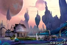 Obduction Landscapes / The otherworldly lands you might encounter in our next game.