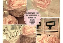 Fabric and Paper Flowers / Instructions on how to make various flowers.